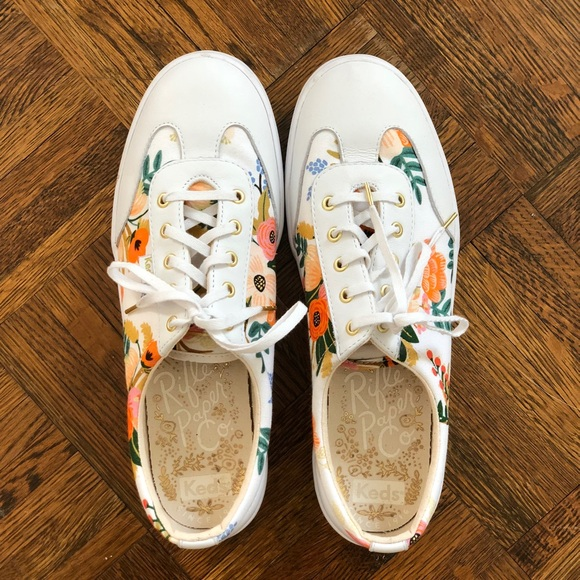 96febb7ee Keds Shoes - Keds x Rifle Paper Co. Tournament Lively Floral